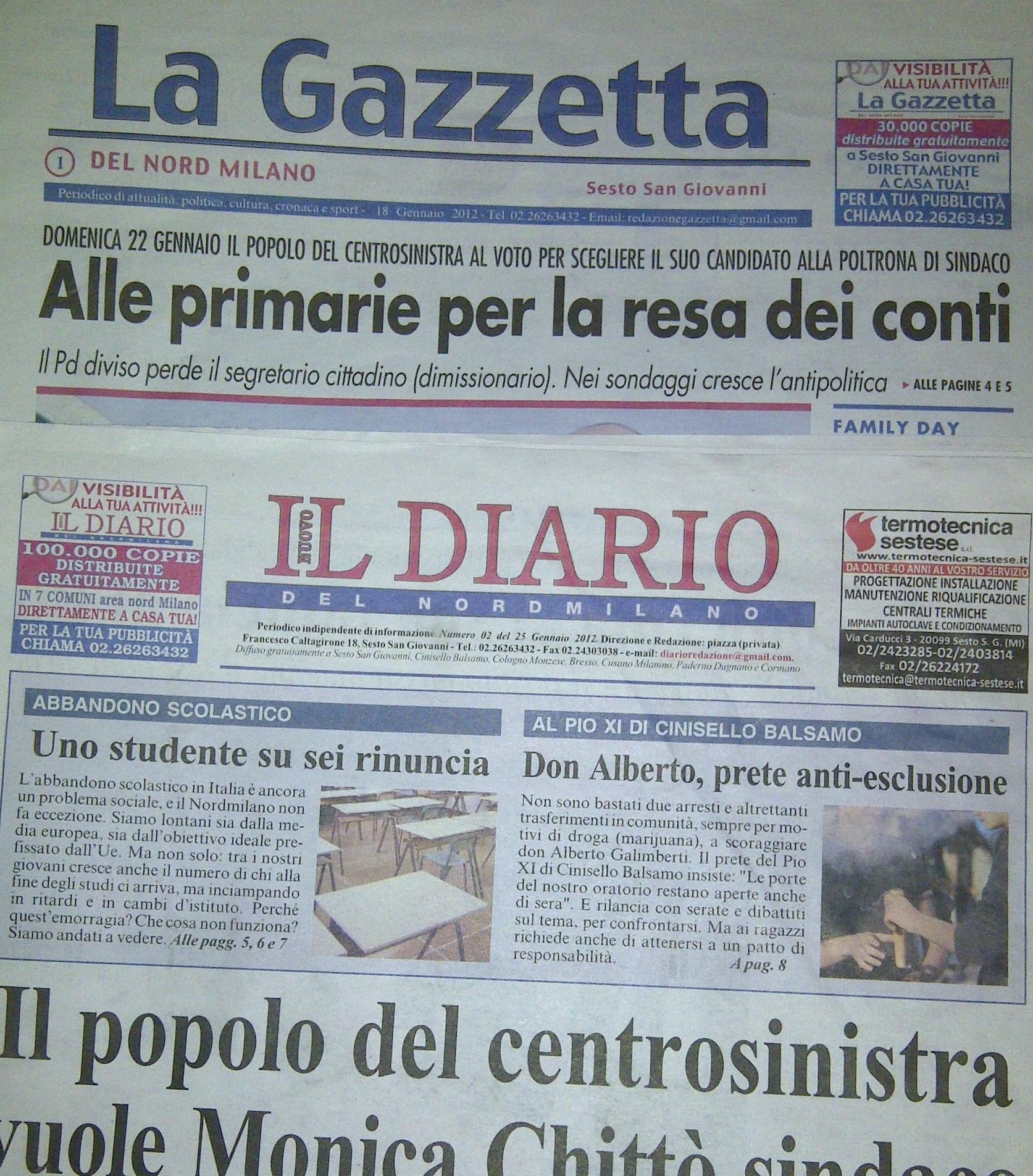 Stupore tra i cittadini sulla chiusura dei giornali del gruppo caltagirone diario e gazzetta - Giornali arredamento casa ...