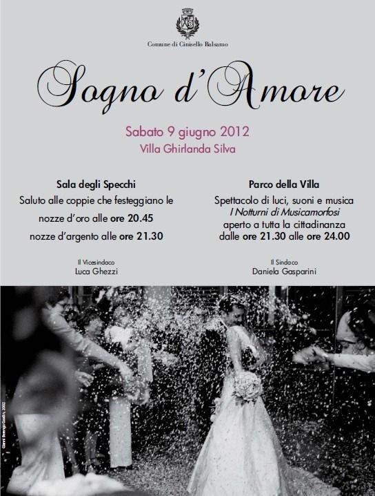 Favorito Cinisello, domani festa degli sposi per l'anniversario dei 25 e 50  ZR48