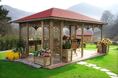 Idee Per Arredare Gazebo.Idee Giardino Con Gazebo Arredare Un Giardino Piccolo Foto Design