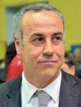 Il coach Filippo Bacchini prova a caricare la squadra