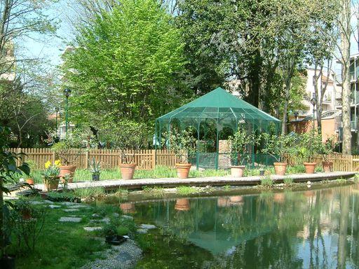 Sesto lavori di pulizia nel laghetto di villa mylius per for Pulizia laghetto